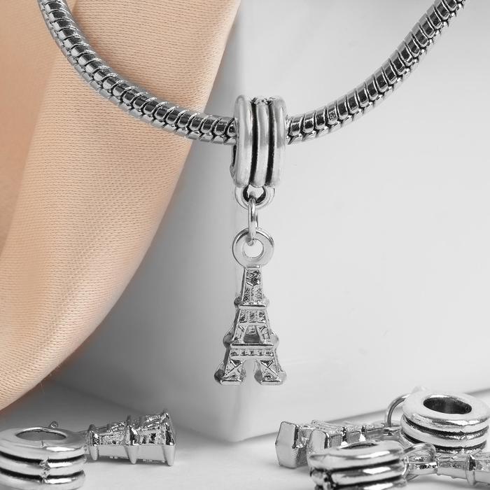 """Подвеска """"Париж"""", цвет серебро"""