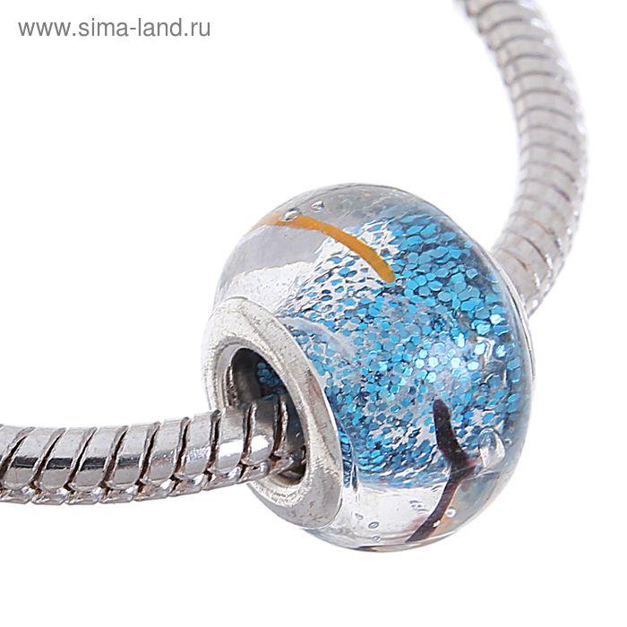 Бусинка-926-15, блестка, цвет синий