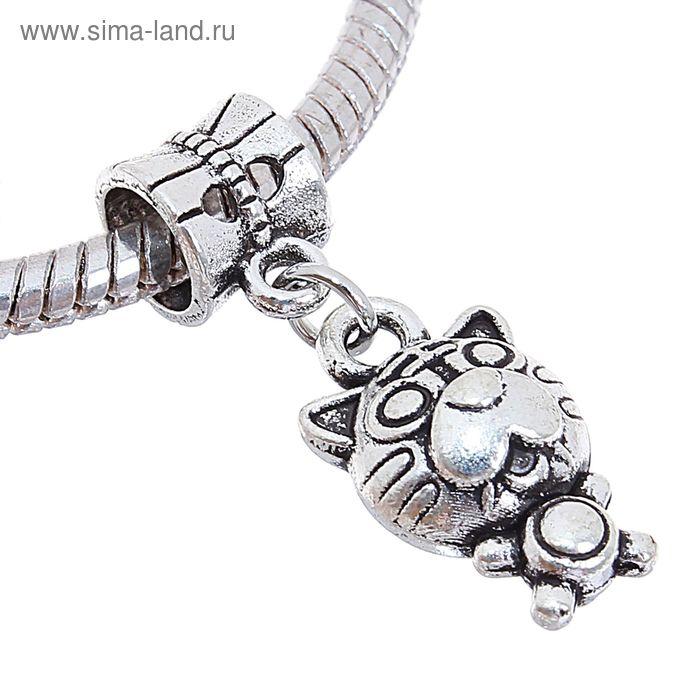 """Подвеска """"Тигр"""", цвет серебро"""