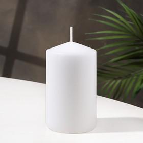 Свеча классическая 7х12 см, белая