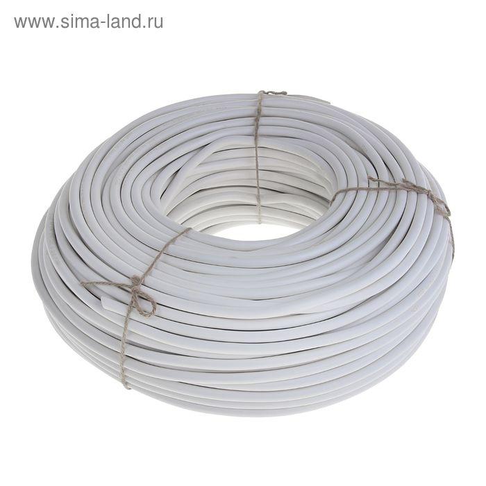 """Провод """"ГОСТок"""" ПВСн, сечение 2х2.5 мм2, 100 м, белый"""