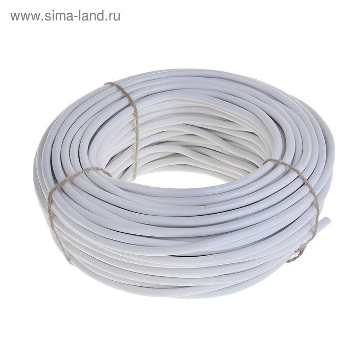 """Провод """"ГОСТок"""" ПВСн, сечение 2х0.75 мм2, 100 м, белый"""