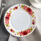 """Тарелка десертная 17,5 см """"Поэзия роз"""""""