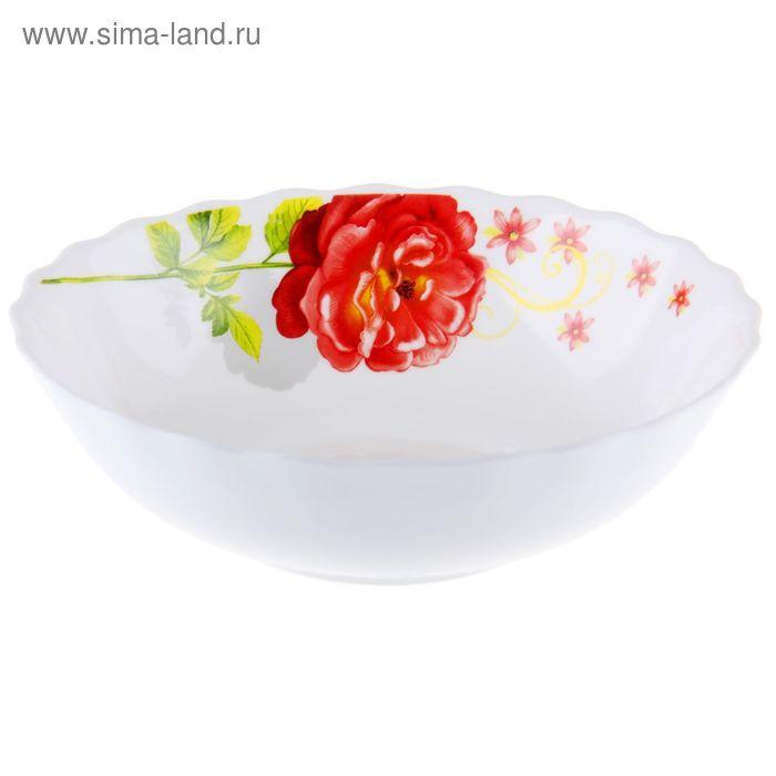"Тарелка суповая 600 мл ""Китайская роза"" 18х5 см"