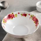 Тарелка суповая Доляна «Поэзия роз», 600 мл, 18×5 см - фото 648072