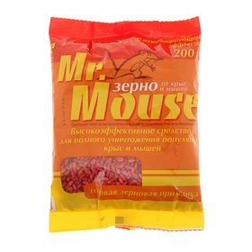 Зерновая приманка MR. MOUSE 200 гр/30  пакет