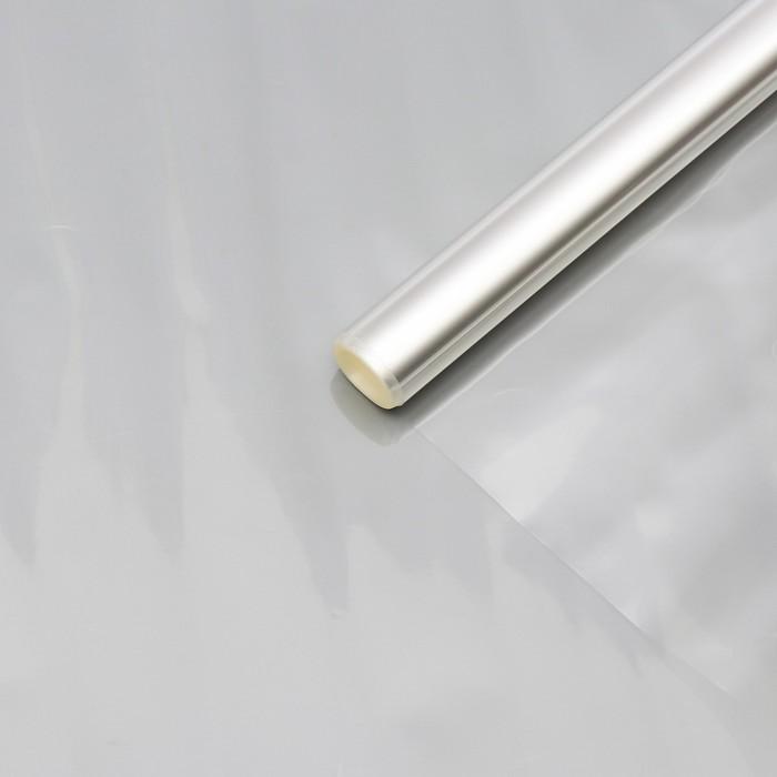Плёнка для цветов прозрачная 0,8 х 6,8 м, 200 г, 40 мкм - фото 308295688
