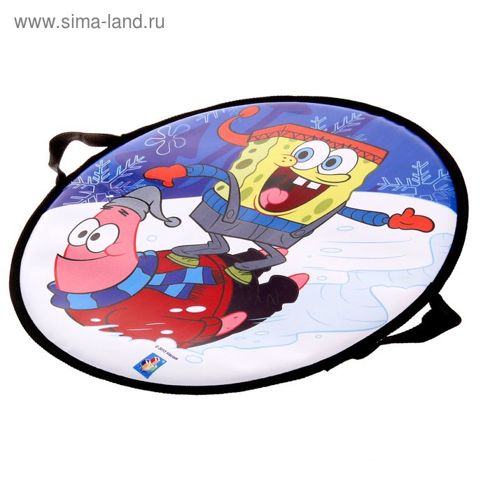 "Ледянка ""Губка Боб"", круглая, диаметр 52 см"