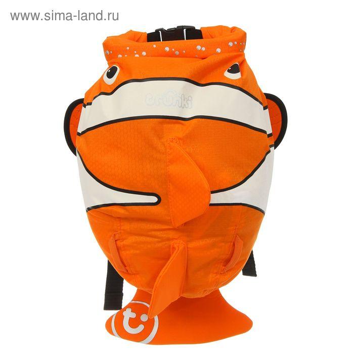 """Рюкзак для бассейна и пляжа """"Рыба-Клоун"""", оранжевый"""