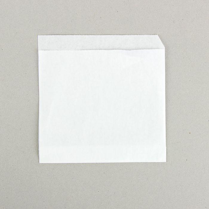 Пакет бумажный фасовочный, «Уголок», из жировлагостойкой бумаги 17,5 х 17,5 см