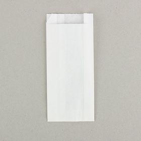 Пакет бумажный фасовочный, белый, V-образное дно 9 х 4 х 20,5 см Ош