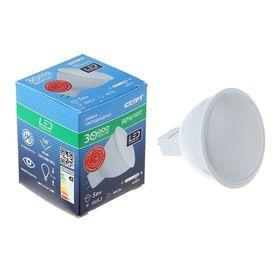 """Лампа светодиодная """"Старт"""", GU5.3, 5 Вт, 4200 К, холодный белый свет"""