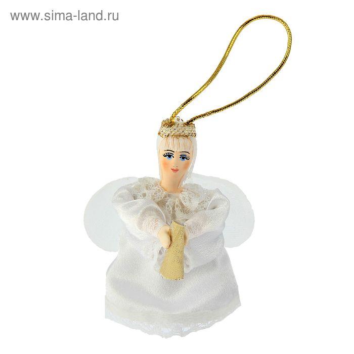 """Сувенирная кукла подвесная """"Летящий ангелочек"""""""