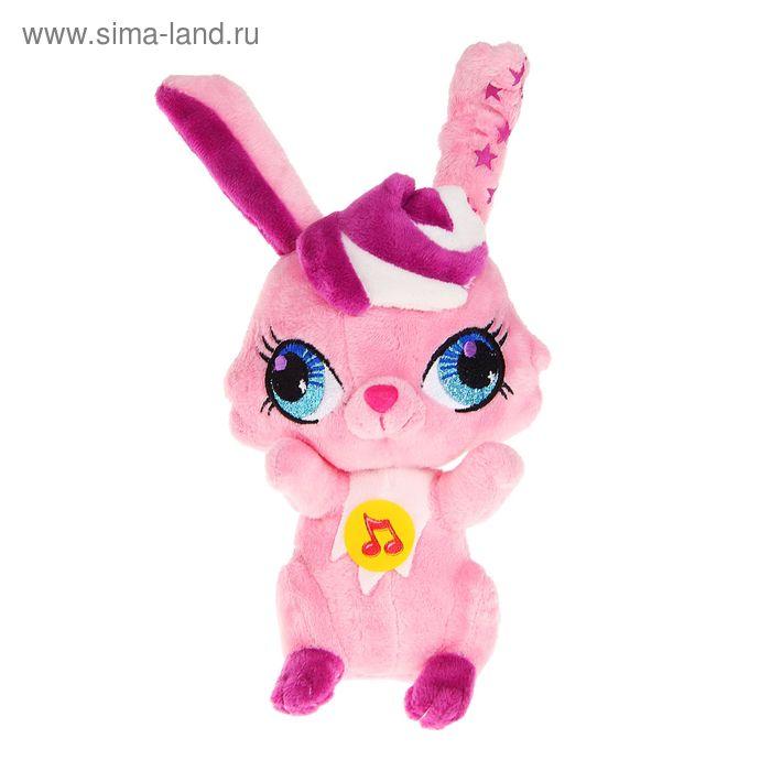 Музыкальная мягкая игрушка «Кролик»