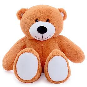 Мягкая игрушка «Мишка Барни», 105 см, цвет карамельный