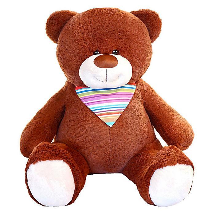 """Мягкая игрушка """"Мишка Добрыня"""", цвет коричневый, 140 см"""