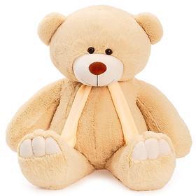Мягкая игрушка «Мишка Олимп», цвет бежевый, 110 см, МИКС