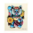 """Татуировка на тело """"Японский кот счастья"""""""