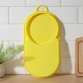 Cutting Board with tray 42x21 cm, MIX color.