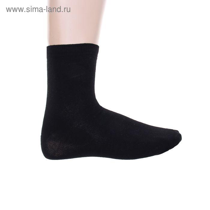 Носки мужские. размер 29 (размер обуви 43-45), цвет черный 12232