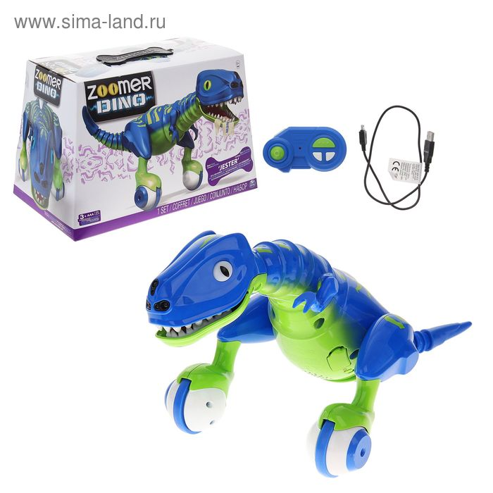 "Интерактивная игрушка Dino Zoomer ""Динозавр Эволюция"""