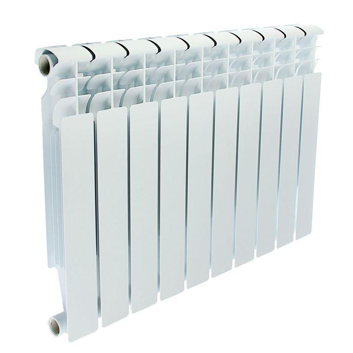 Радиатор биметаллический Oasis, 500 × 80 мм, 10 секций