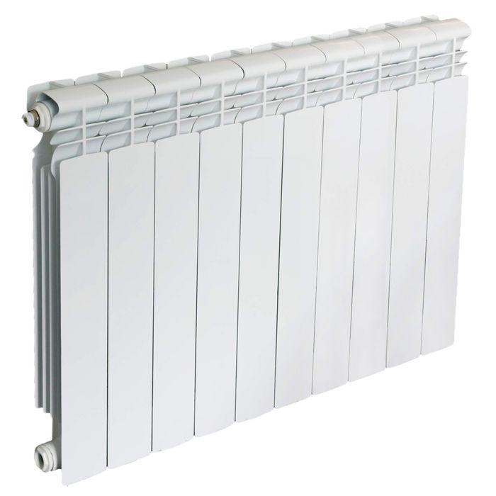 Радиатор алюминиевый Oasis, 500 х 70 мм, 10 секций