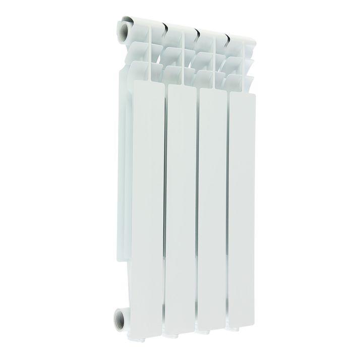 Радиатор алюминиевый Oasis, 500х70, 4 секции