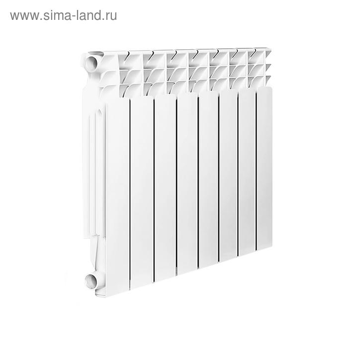 Радиатор Oasis TL/500/80/8, алюминиевый, межосевое 500, глубина 80, 8 секций