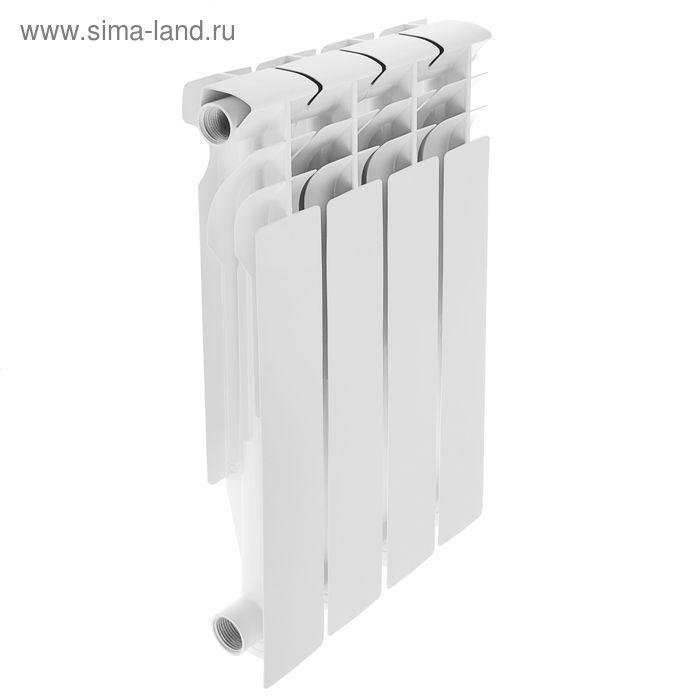 Радиатор алюминиевый Oasis, литой, 500х80, 4 секции