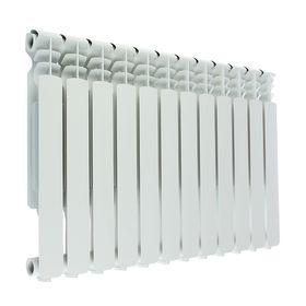 Радиатор алюминиевый Oasis, 500 х 70 мм, 12 секций