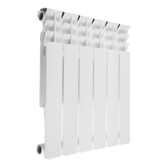 Радиатор алюминиевый Oasis, литой, 500х80, 6 секций