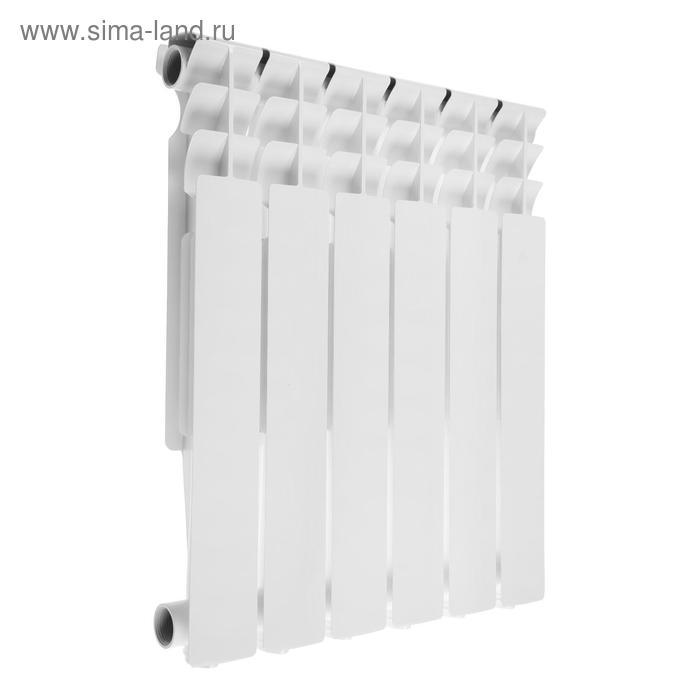 Радиатор Oasis, алюминиевый, литой, 500/80, 6 секций