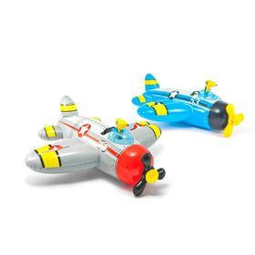 Надувная игрушка для плавания 'Самолет', 132х130 см, от 3-лет, цвета МИКС 57537 INTEX Ош