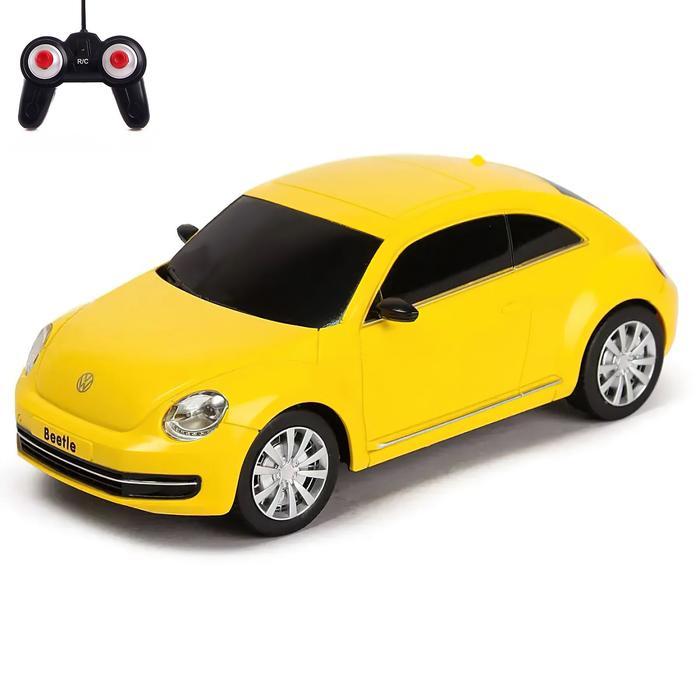 Машина на радиоуправлении Volkswagen Beetle, масштаб 1:20, МИКС - фото 106540591