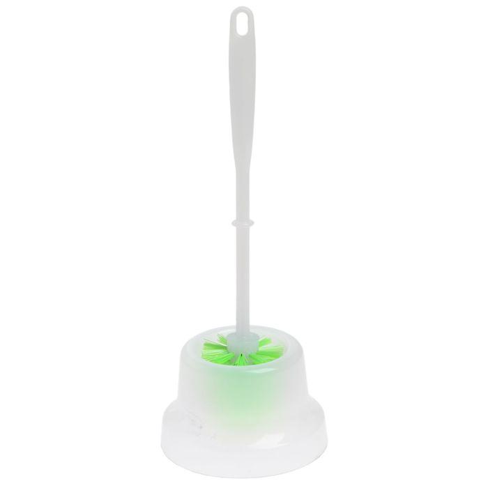 Ерш для унитаза с подставкой Elite Arona Mini, цвет салатовый