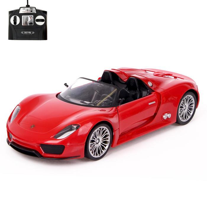 """Радиоуправляемая машина """"Porsche 918 Spyder"""", масштаб 1:14, МИКС"""