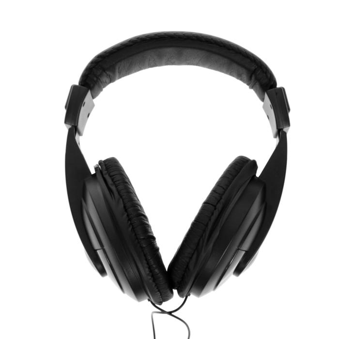 Наушники полноразмерные Defender Gryphon 751, 100 дБ, 32 Ом, кабель 2 м, чёрные