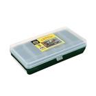 "Коробка ""Тривол"" ТИП-5, двухъярусная c микролифтом, 210х110х50 мм, цвет тёмно-зелёный"