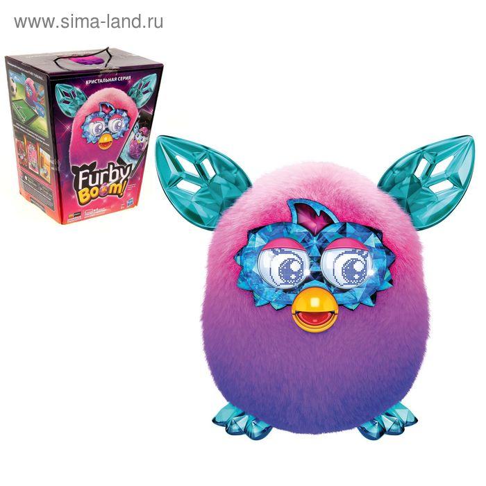 """Интерактивная игрушка """"Furby кристалл"""", цвет сиренево-розовый"""
