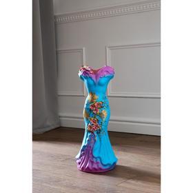 """Ваза напольная """"Платье"""", цветы, 45 см, микс - фото 1703428"""
