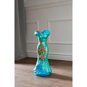 """Ваза напольная """"Платье"""", цветы, 45 см, микс - фото 1703430"""
