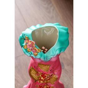 """Ваза напольная """"Платье"""", цветы, 45 см, микс - фото 1703434"""