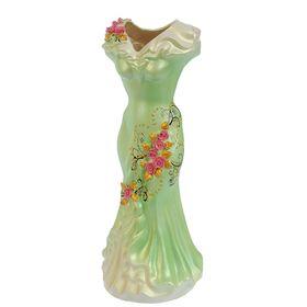 """Ваза напольная """"Платье"""", цветы, 45 см, микс - фото 1703435"""