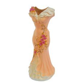 """Ваза напольная """"Платье"""", цветы, 45 см, микс - фото 1703436"""