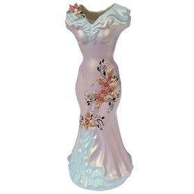 """Ваза напольная """"Платье"""", цветы, 45 см, микс - фото 1703437"""