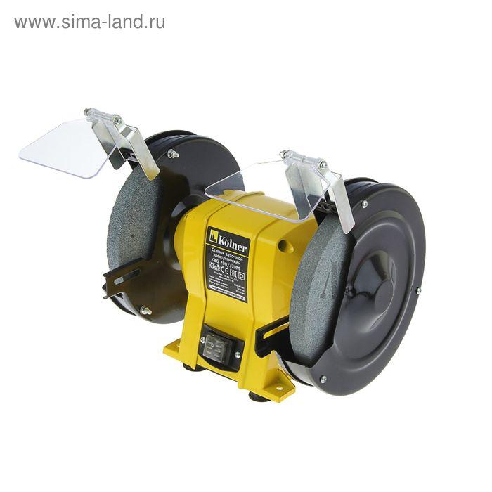 Станок заточной Kolner KBG 200/370 М, 370 Вт, 200 мм, 2950 об/мин