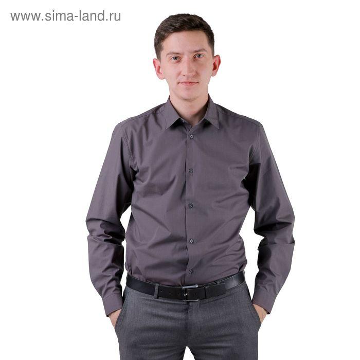 Сорочка мужская BIG BEN К-32 108-S, размер 39-170-176, цвет смог