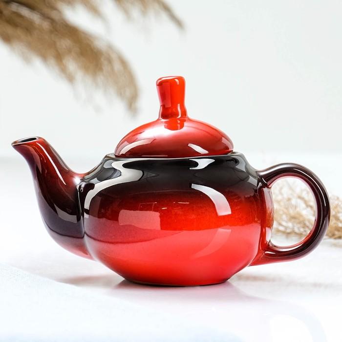 "Чайник 400 мл ""Кроха младший"", цвет красный"