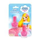 """Лак для ногтей Маленькая фея """"Устойчивая формула"""", розовый шелк, 6 мл"""